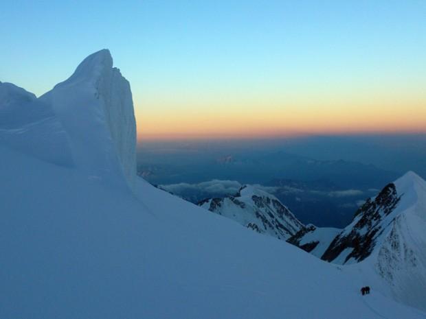 ascension du mont blanc par le refuge du go 251 ter avec kazaden